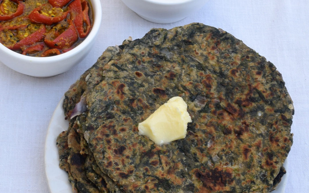 Methi Aur Pyaaz Ka Paratha | Yummy And Healthy Paratha Recipe