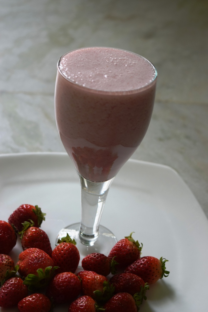 Strawberry Shake (Without Ice Cream)