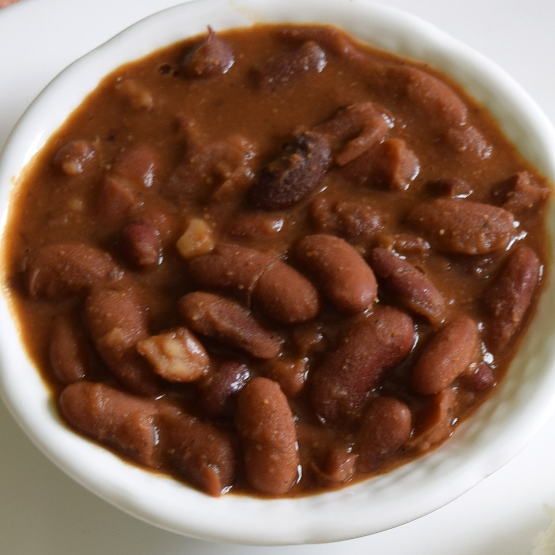 Rajma Masala ( Red Kidney Beans in spicy Indian Gravy)