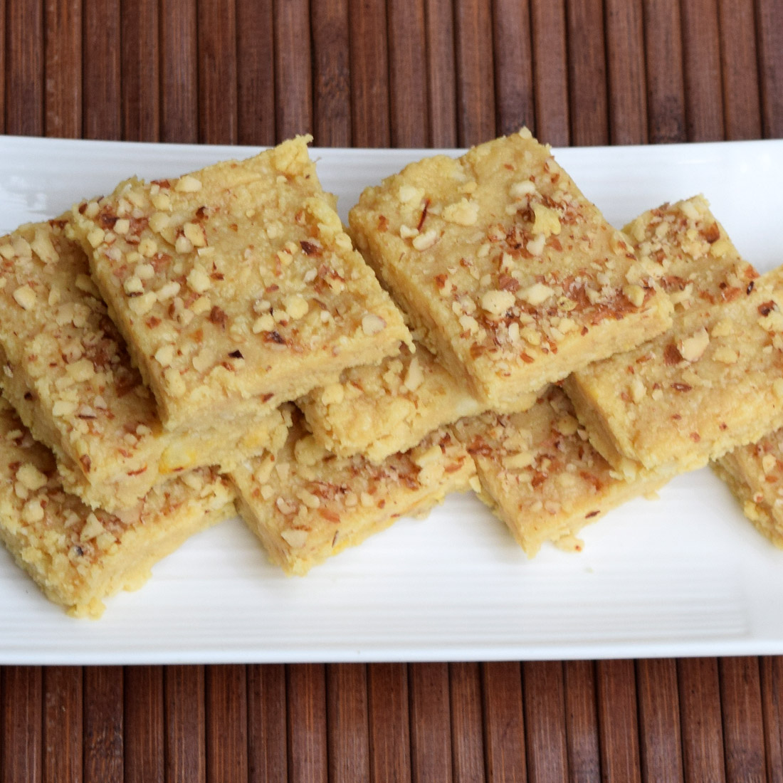 Paneer Ki Barfi (Fresh Cheese Fudge)