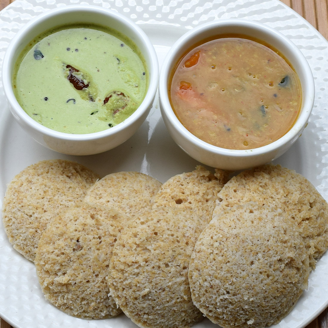 Broken Wheat or Dalia Idli Step by Step Recipe with Pictures