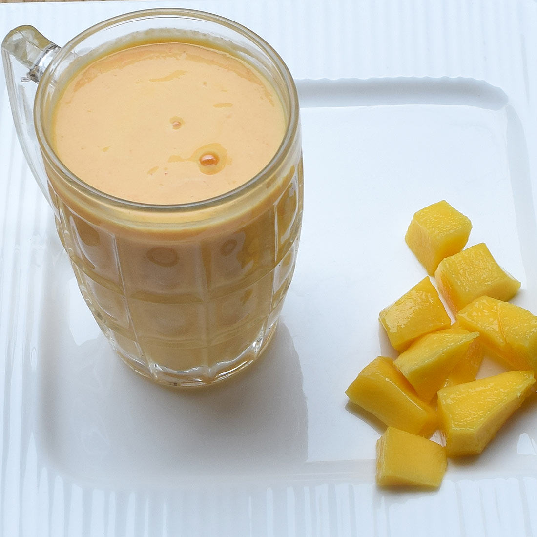Mango Carrot Smoothie