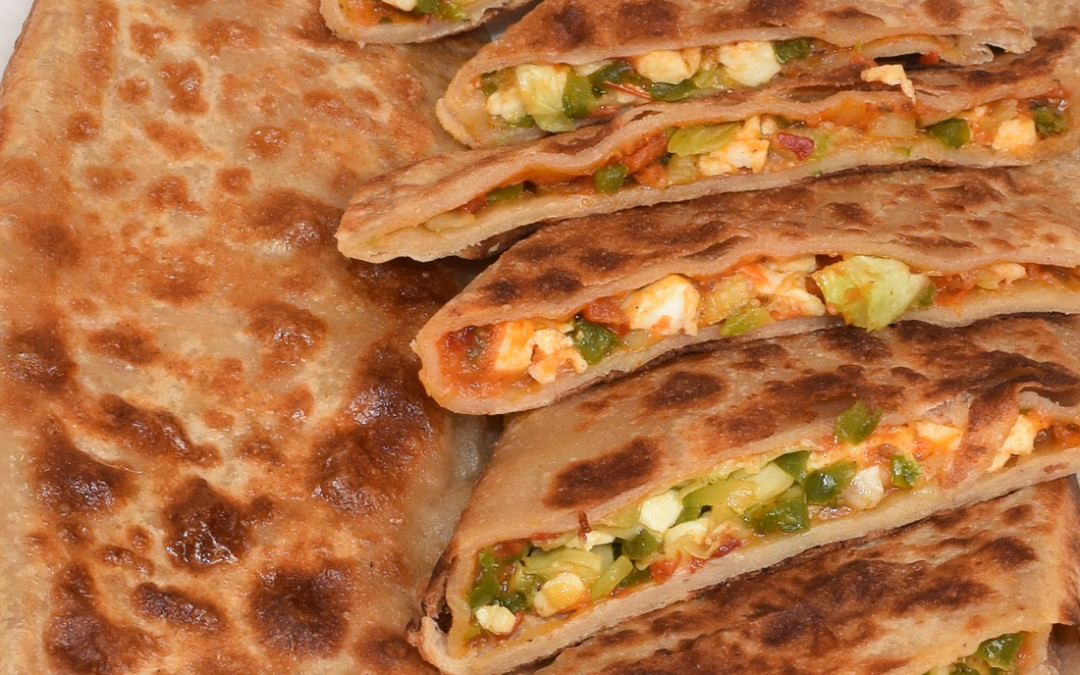 Calzone Pocket Paratha | How To Make Calzone Pocket Paratha