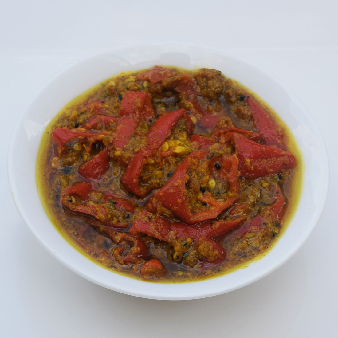 Red Chilli Pickle (Lal Mirch ka Achar)