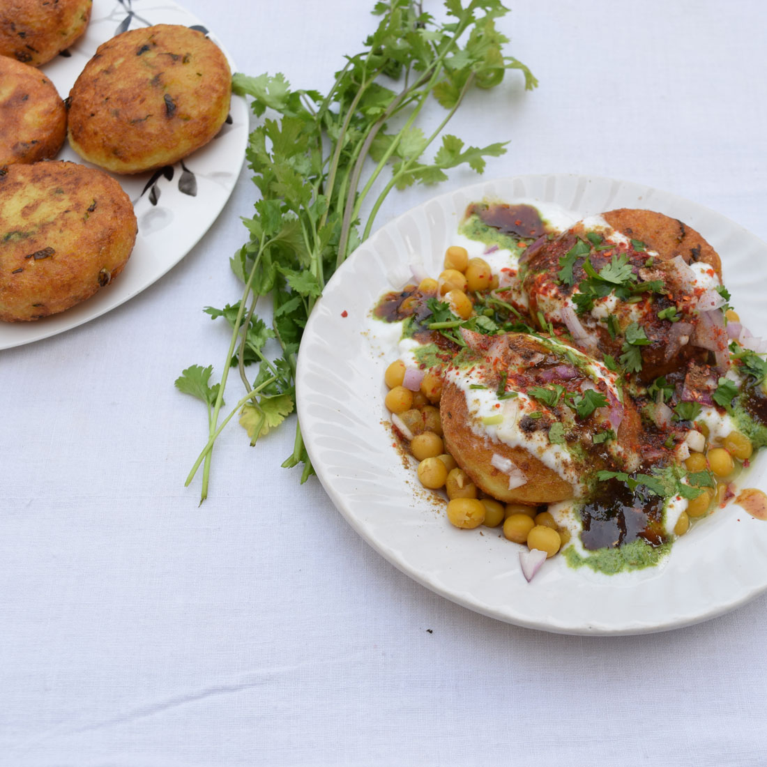 Indian Street Food Aloo Tikki Recipe: How To Make Aloo Tikki Matar