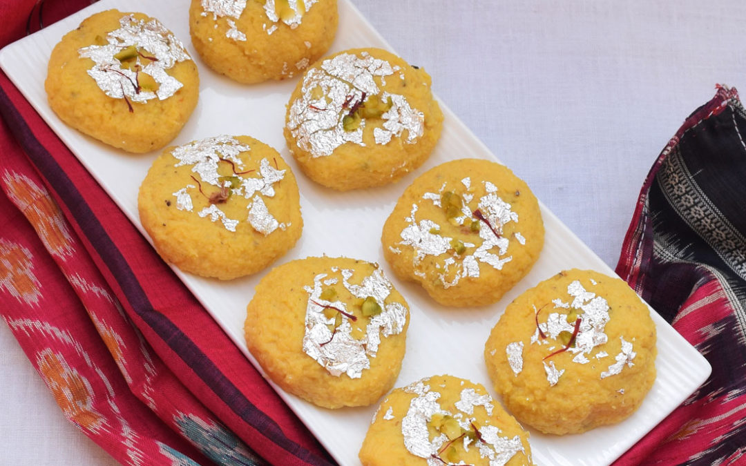 Kesar Malai Peda | How to make delicious Malai Peda dessert