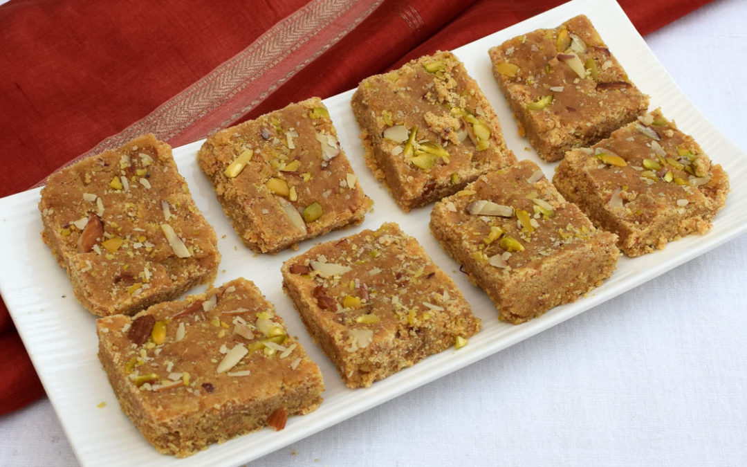 Mohanthal Recipe | How to make Mohanthal or Besan ki Chakki