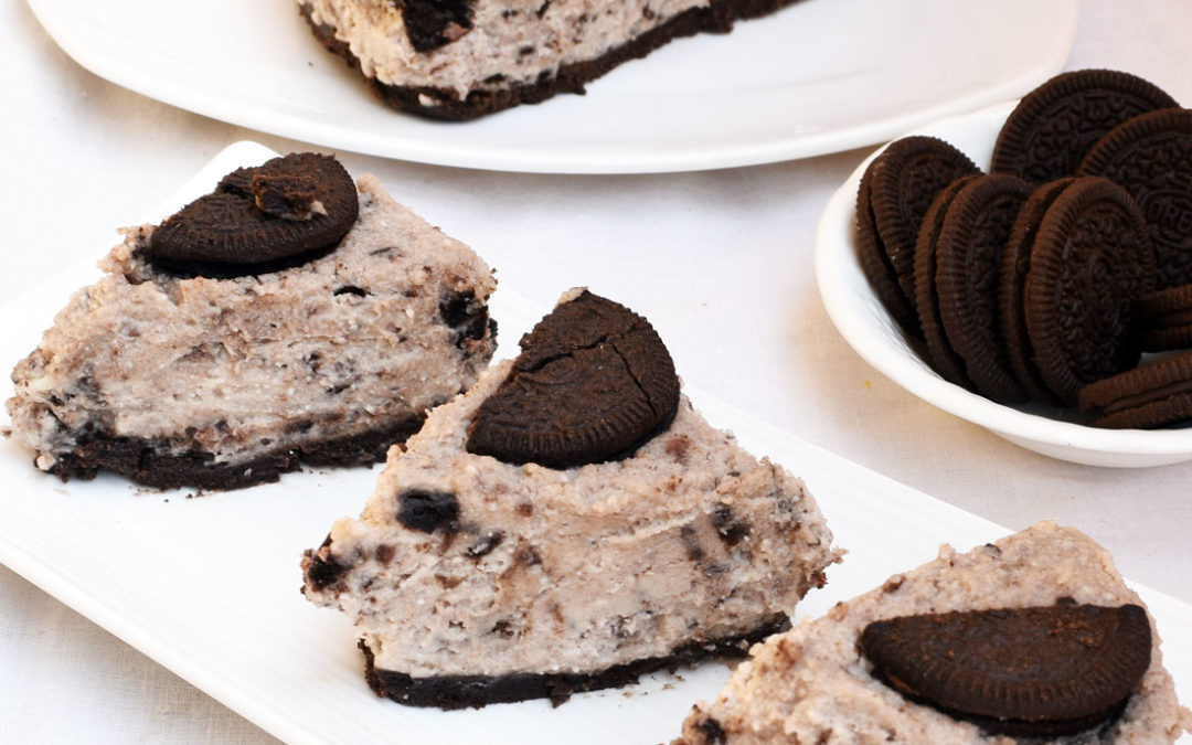 No bake Oreo Cheesecake Recipe | Oreo cookie cheesecake